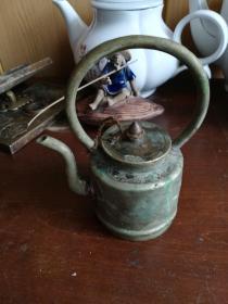 民国小铜酒壶