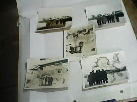 黑白老照片五张
