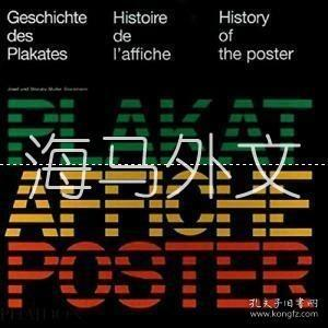 【包邮】History Of The Poster /Josef Muller-brockmann; Shizuko Mulle