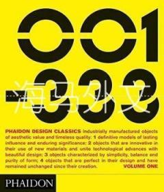 【包邮】Phaidon Design Classics (3 Volume Set) (pts. 1  2 & 3) /