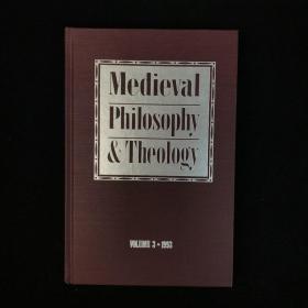1994年,中世纪哲学和宗教研究专家诺曼·克雷茨曼《中世纪哲学与神学》卷三,圣母大学出版社,精装,Mediaeval Philosophy and Theology, Volume 3 by Norm