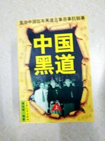 DX112325 中国黑道  上(一版一印)