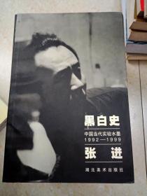 DI300088 黑白史-中国当代实验水墨1992-1999---张进(一版一印)