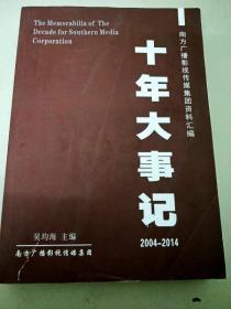 DC508044 十年大事记2004-2014