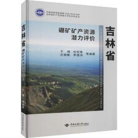 吉林省硼矿矿产 源潜力评价于城中国地质大学出版社9787562548645艺术