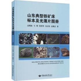 山东典型铁矿床标本及光薄片图册高明波中国地质大学出版社9787562549253艺术