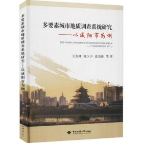 多要素城市地质调查系统研究——以咸阳市为例王友林中国地质大学出版社9787562548201艺术