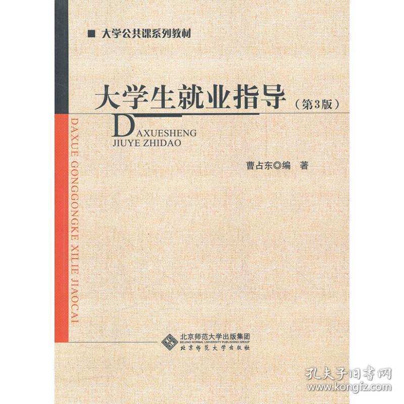 大学生就业指导曹占东北京师范大学出版社9787303101719小说