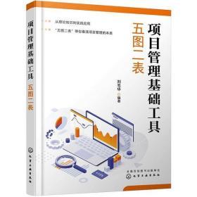 项目管理基础工具 五图二表刘毛华化学工业出版社9787122384645管理