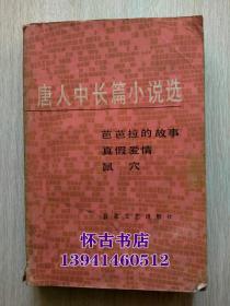 唐人中长篇小说选