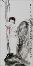 程宝泓(中国美术学院教授、中国美术家协会会员、浙江当代中国画研究院院长)人物画