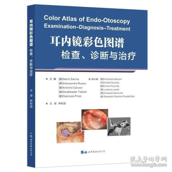 耳内镜彩色图谱:检查、诊断与治疗