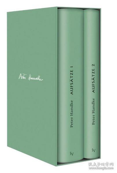 Handke Bibliothek II, Bde. 10-11 Aufsätze