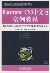 二手正版Illustrator CS3中文版实例教程 汪晓斌