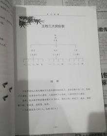 王氏族谱。。千阳县柳家源岭底下王氏
