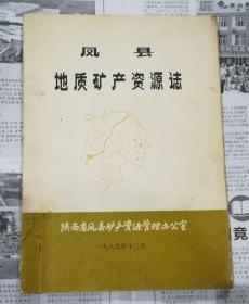 凤县地质矿产资源志