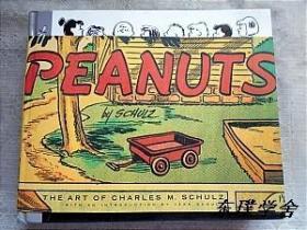 【英文原版连环画册】Peanuts(横版精装本 Art of Charles M. Schulz)