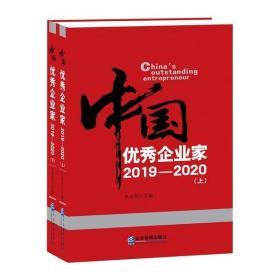 闻香识墨正版图书!中   企业 2019-2020(全2册)书籍