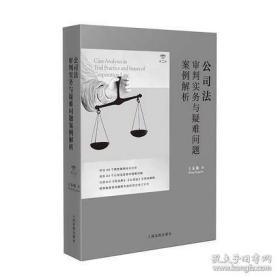 公司法审判实务与疑难问题案例解析(第二版)