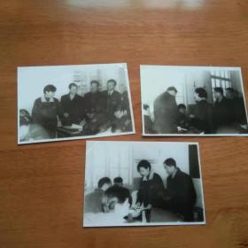 老照片 学习[3张.黑白照片]