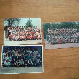 老照片 小学生合影3张
