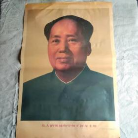 宣传画  毛主席像(印刷品)