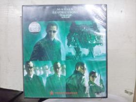 黑客帝国 矩阵革命 双碟DVD