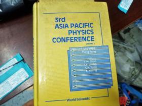 3rd asia pacific physics conference第三届亚太物理学会议(volume2)