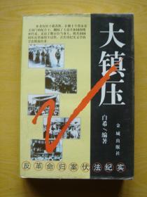 大镇压:反革命归案伏法纪实