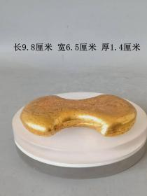 乡下收的明代传世弘治年制十五两老金饼