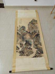 名人黄山寿山水画