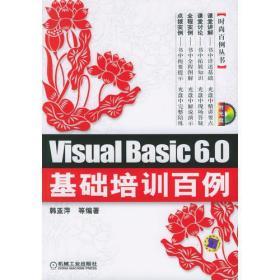 Visual Basic 6.0基础培训百例(附CD-ROM光盘一张)