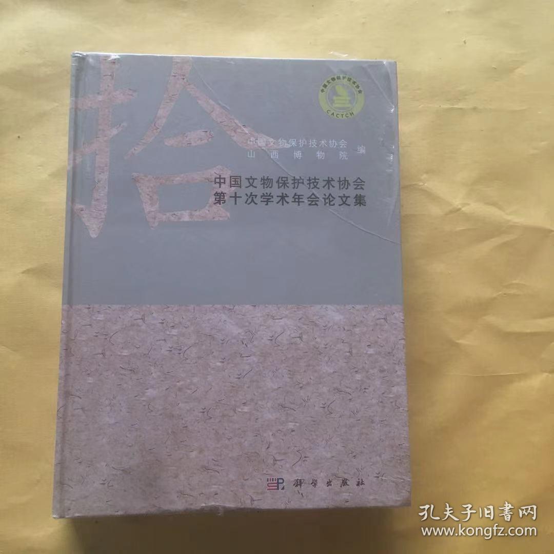 中国文物保护技术协会第十次学术年会论文集