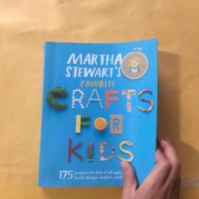 Martha Stewart's Favorite Crafts for Kids  175 P