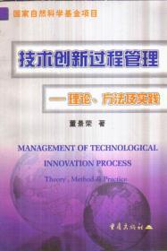 技术创新过程管理:理论、方法及实践