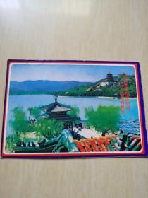 明信片 昆明湖 见图