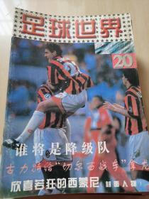 足球世界 1996年20期 带海报