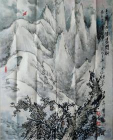 甘庆耀   山水