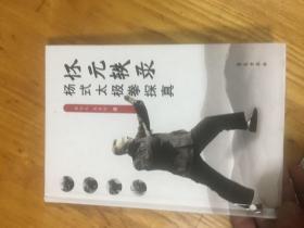 怀元轶录:杨氏太极拳探真