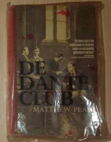 荷兰语原版 De Dante Club by Matthew Pearl 著