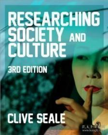 Researching Society And Culture-研究社会和文化 /Clive Seale