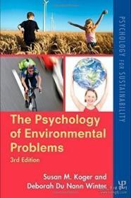 The Psychology Of Environmental Problems-环境问题心理学 /Sus