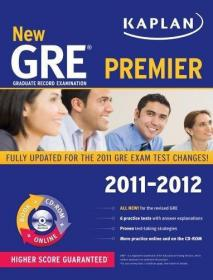 New GRE 2011-2012 Premier with CD-ROM (Kaplan GRE)-新GRE 201