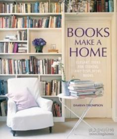 Books Make A Home-书是家 /Damian Thompson Ryland Peters &