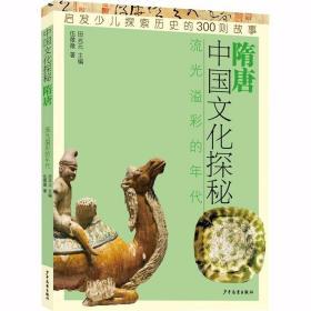中国文化探秘 隋唐 流光溢彩的年代 /田兆元主编,伍微微著