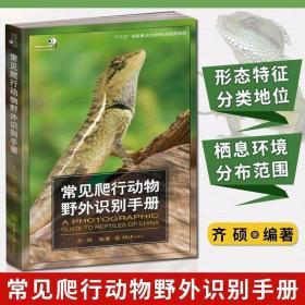 正版现货 常见爬行动物野外识别手册 齐硕编著 爬行动物 对照识别