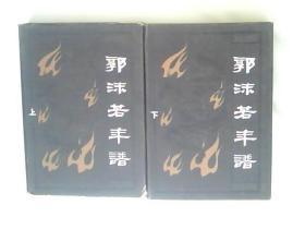 《郭沫若年谱》 精装上下册 天津人民