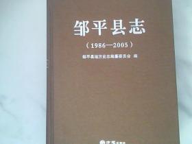 邹平县志(1986——2005)