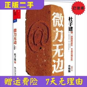 微力无边-升级版 杜子建 中国人民大学出版社 9787300180564