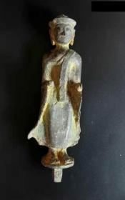 少见的明代地藏王菩萨铜像